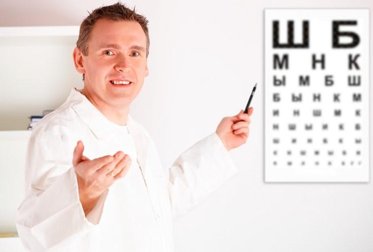 офтальмолог обследование